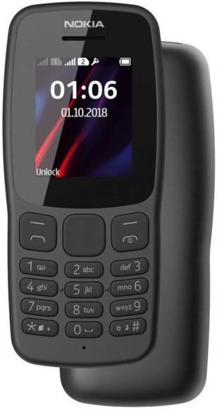 Смартфон Nokia 106 (2018): характеристики, цены, где купить