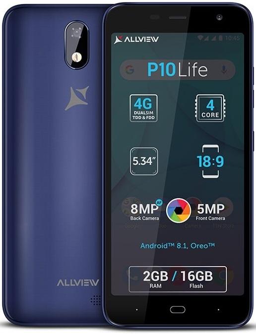 Смартфон Allview P10 Life: характеристики, цены, где купить