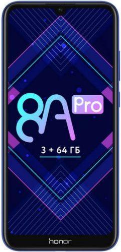 Смартфон Huawei Honor 8A Pro: характеристики, цены, где купить